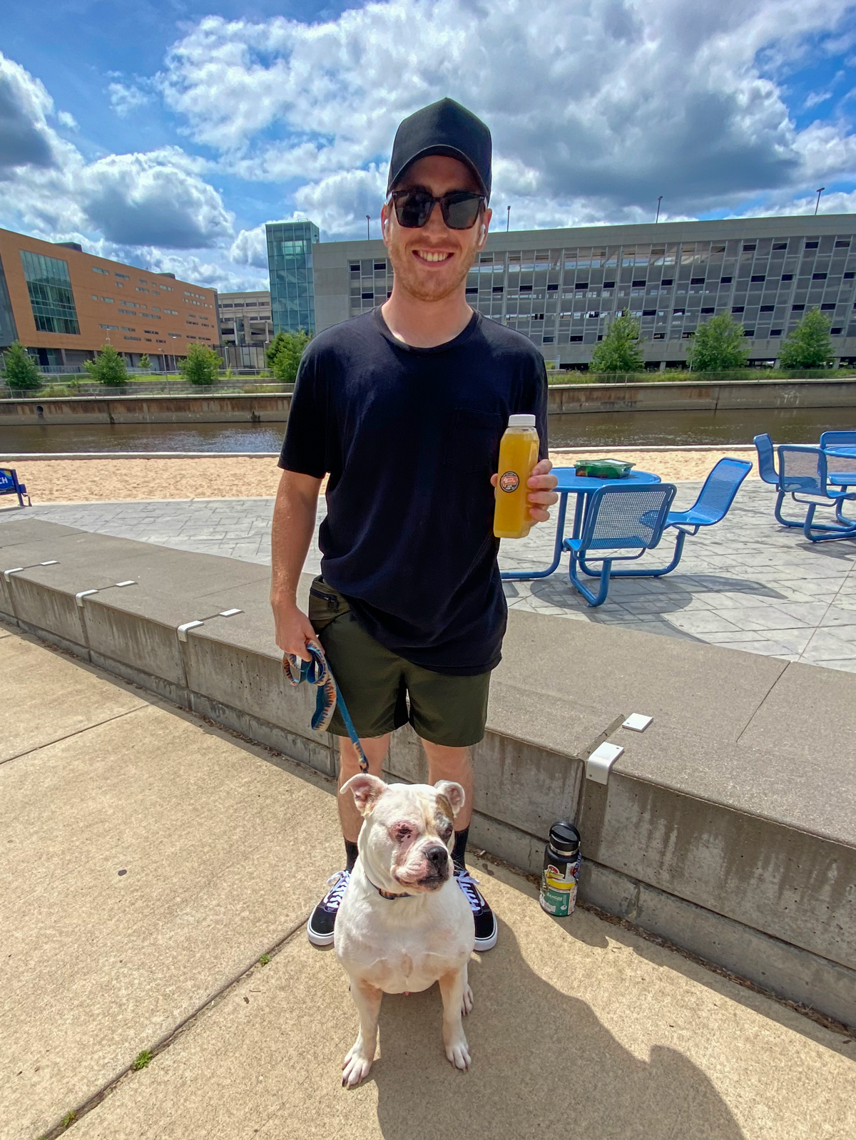 Enjoy the Lansing Social District with your dog!